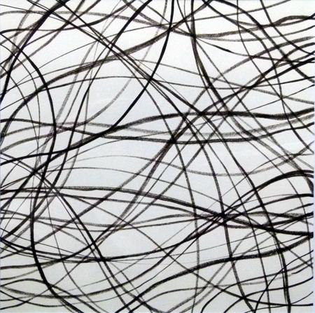 Kohle | Graphit | Bleistift | Papier | 30x30